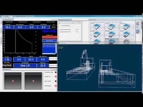 Integrated Flexible Maritime Crane Architecture for the Offshore Simulation Centre AS (OSC)