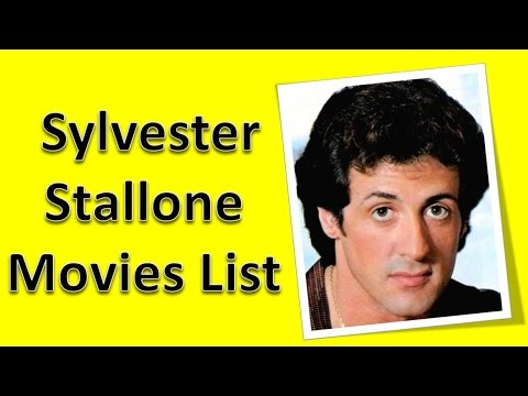 Sylvester Stallone Movies List - YouTube