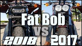2018 Fat Bob Vs 2017 Fat Bob