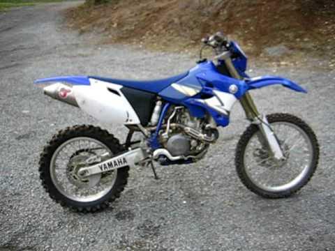 Yamaha Dual Sport >> 2005 Yamaha wr450f - walk around - YouTube