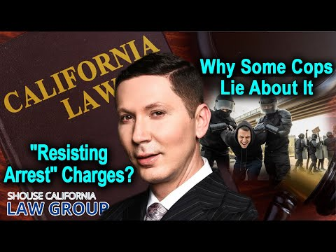"""Resisting Arrest"" charges? Why cops always lie about this"