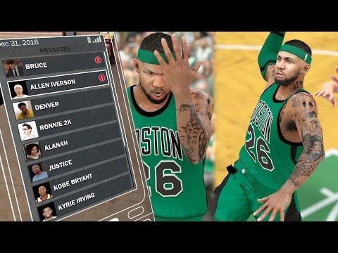 NBA 2k17 MyCAREER - Allen Iverson Text! Team Owner Jet Ride + Alternate Jersey Selector! Ep. 51