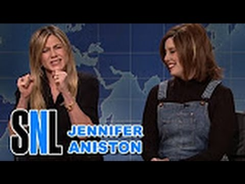 SNL   Weekend Update  Rachel from Friends on '90s Nostalgia   Jennifer Aniston Saturday Night Live