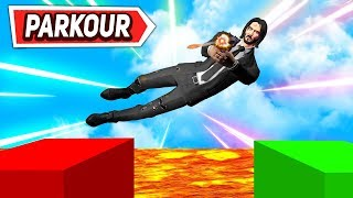 *PARKOUR JOHN WICK* SALTOS IMPOSIBLES FORTNITE PARKOUR