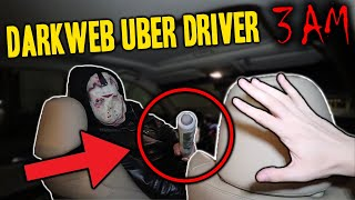 I ORDERED AN UBER OFF THE DARK WEB AT 3 AM AND THIS IS WHAT HAPPENED...