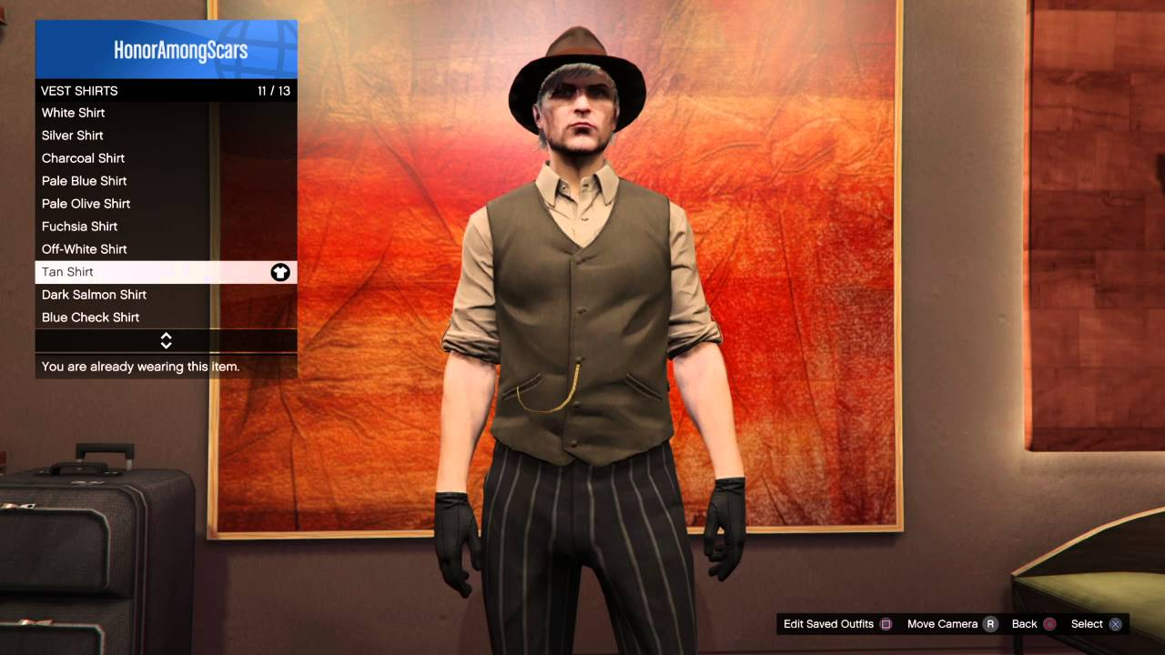 Grand Theft Auto 5 Online Red Dead Redemption John Marston Outfit Tutorial