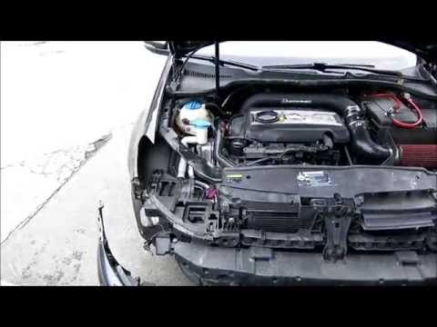 HOW TO INSTALL OR REMOVE GOLF R HEADLIGHTS AND BUMPER IN GTI TDI GOLF MK6