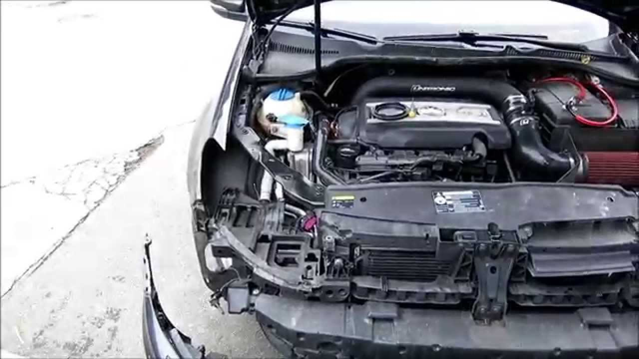 How To Install Or Remove Golf R Headlights And Bumper In