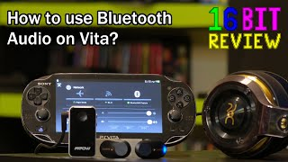 How to use Headphones on a Vita with a Broken Headphone Jack - 16 Bit Game Review
