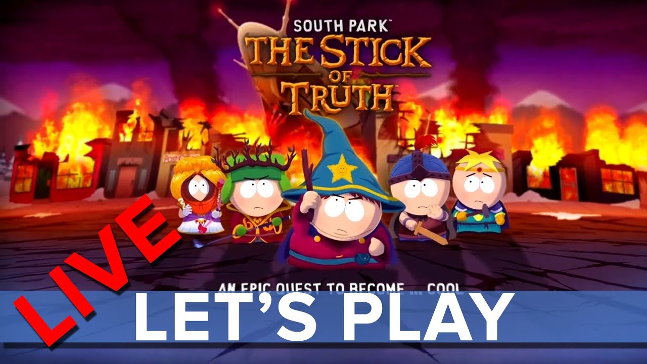 South Park: The Stick of Truth - Eurogamer Let's Play LIVE