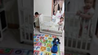 哥3歲 妹10個月