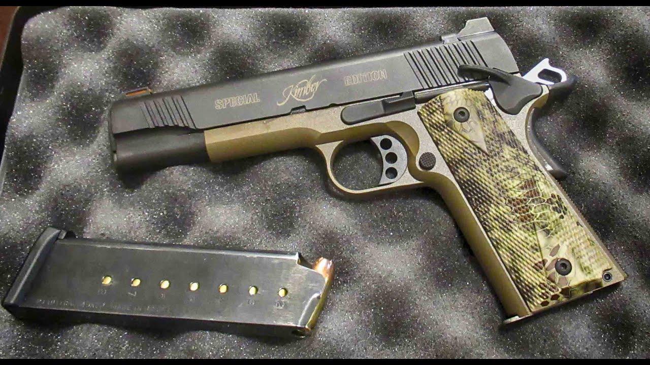Kimber Hero Custom 1911  45 acp Range Review