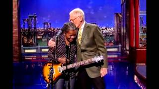 """Tracy Chapman: """"Stand By Me"""" - David Letterman"""