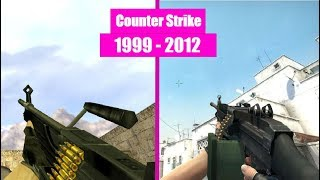 Counter Strike Series - Weapon Comparisons (1999 - 2012)