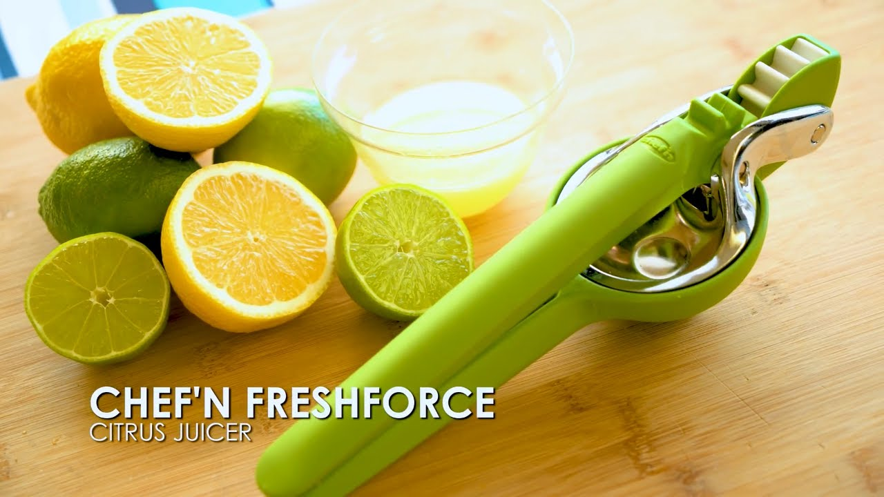 The Chef N Freshforce Citrus Juicer Youtube