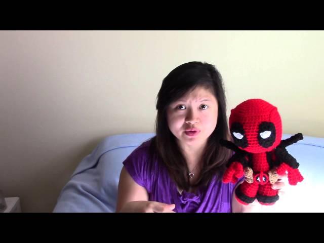 Deadpool Amigurumi - post - Imgur | 480x640