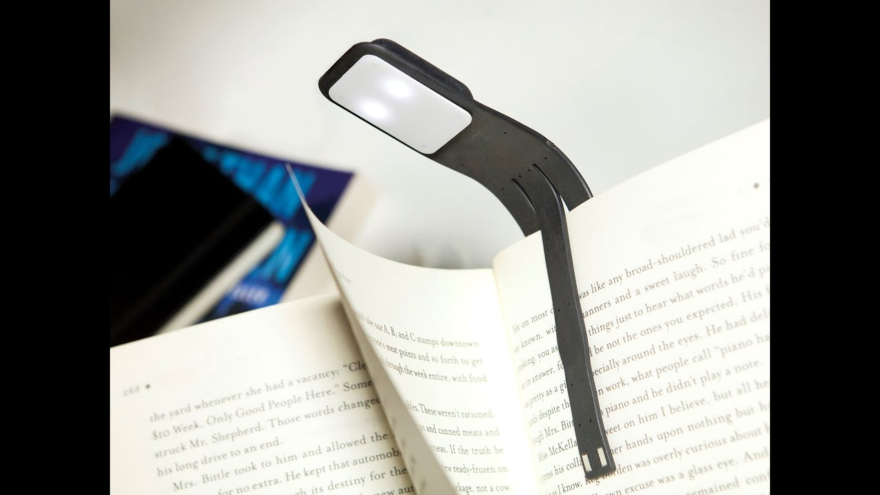Moleskine   Book Light   YouTube
