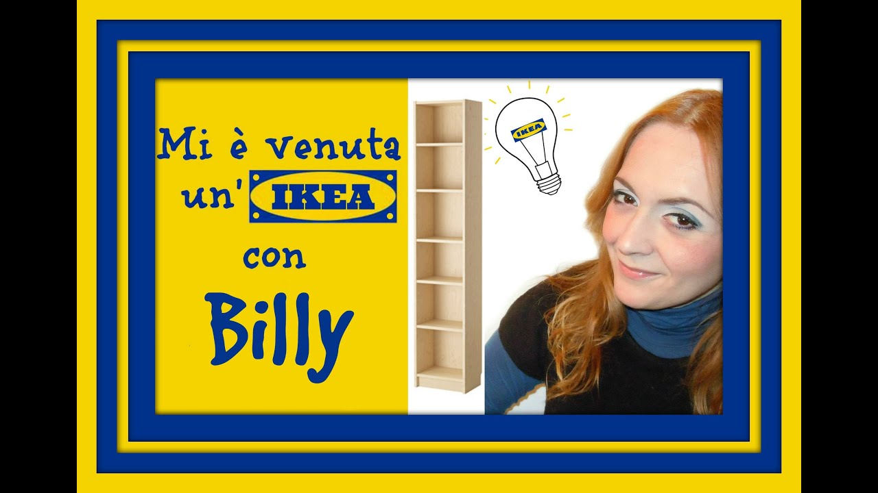 Mi è Venuta Unikea Con Billy Progetto Per Personalizzare Una Libreria Arte Per Te