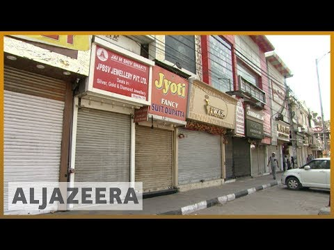 🇮🇳 Traders in India's New Delhi strike over shop closures | Al Jazeera English