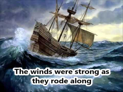 The Mayflower - a Thanksgiving Song with Lyrics