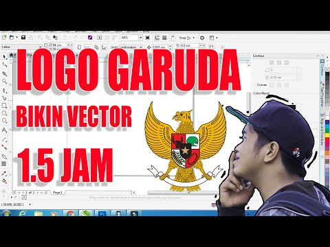 Garuda Pancasila 3D   SketchUp Tutorial.