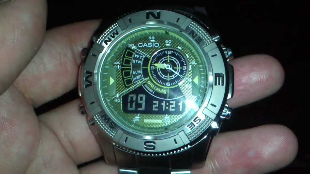 faed6535b471 casio amw 709 - YouTube