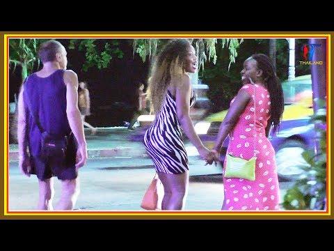Night walk along the Soi 8 Beach Road, #Pattaya 2017, Vlog 135