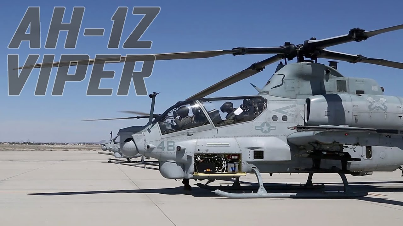Marine AH-1Z Vipers Fly into MCAS Yuma