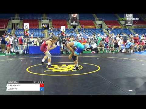 Junior FS 170 Rnd 32  Liam Mcintyre NY vs. Jeremiah Kent MO