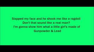 Gunpowder & Lead - Miranda Lambert (Lyrics On Screen)