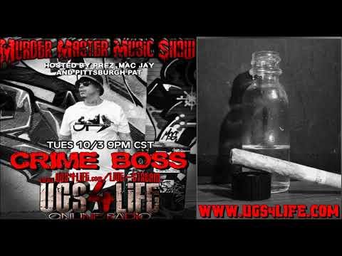 Crime Boss recalls the PCP song Fry from the All In The Game album