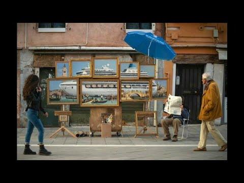شاهد: لوحة جديدة للفنان بانسكي تعرض في مدينة البندقية  - نشر قبل 12 ساعة
