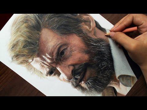 Desenhando o Logan | Wolverine (Hugh Jackman)