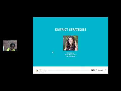 Access and Equity in Linked Learning Webinar