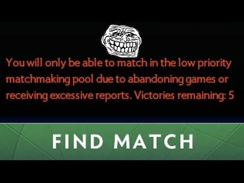 LOW PRIORITY EXTREME GRIEFING (Dota 2 Trolling)