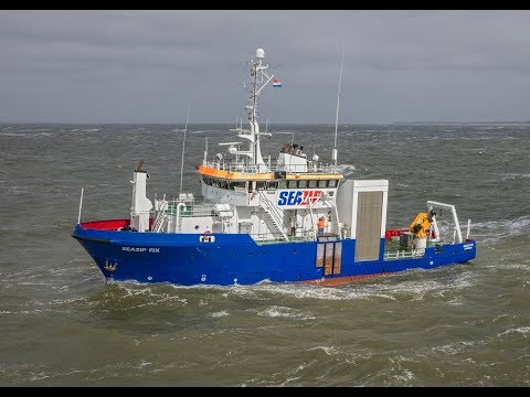 Survey vessel MV SeaZip Fix - SeaZip Offshore Service BV