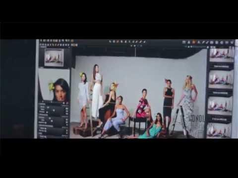 Honolulu Magazine Behind The Scenes Photo Shoot - Fashion Week Cover