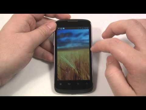 ZTE Blade III review and unboxing