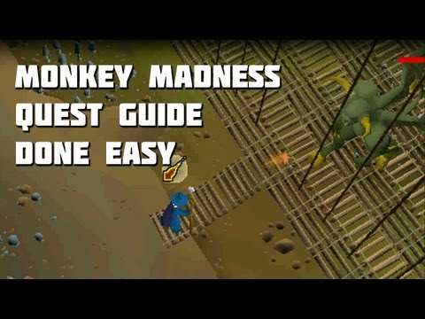 Runescape 2007 Monkey Madness Quest Guide - Quest Guides Done Easy - Framed