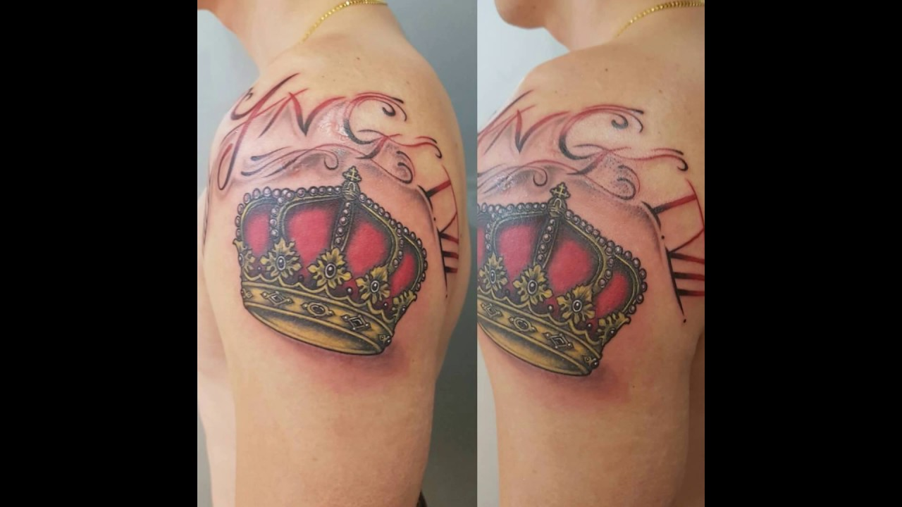 Princess Crown Tattoo Designs Youtube