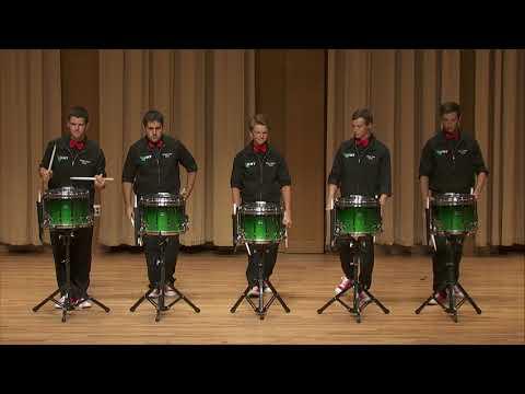 UNT Snare Drum Line: Bryce Gardner - Blue Sparkled Bungalow (2016)