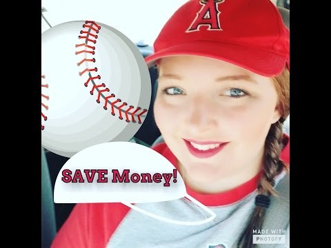 How to SAVE MONEY at a Baseball Game!