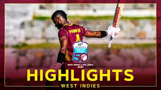 Highlights | West Indies vs Sri Lanka | Brilliant Hope Hundred Earns Win! | 1st CG Insurance ODI