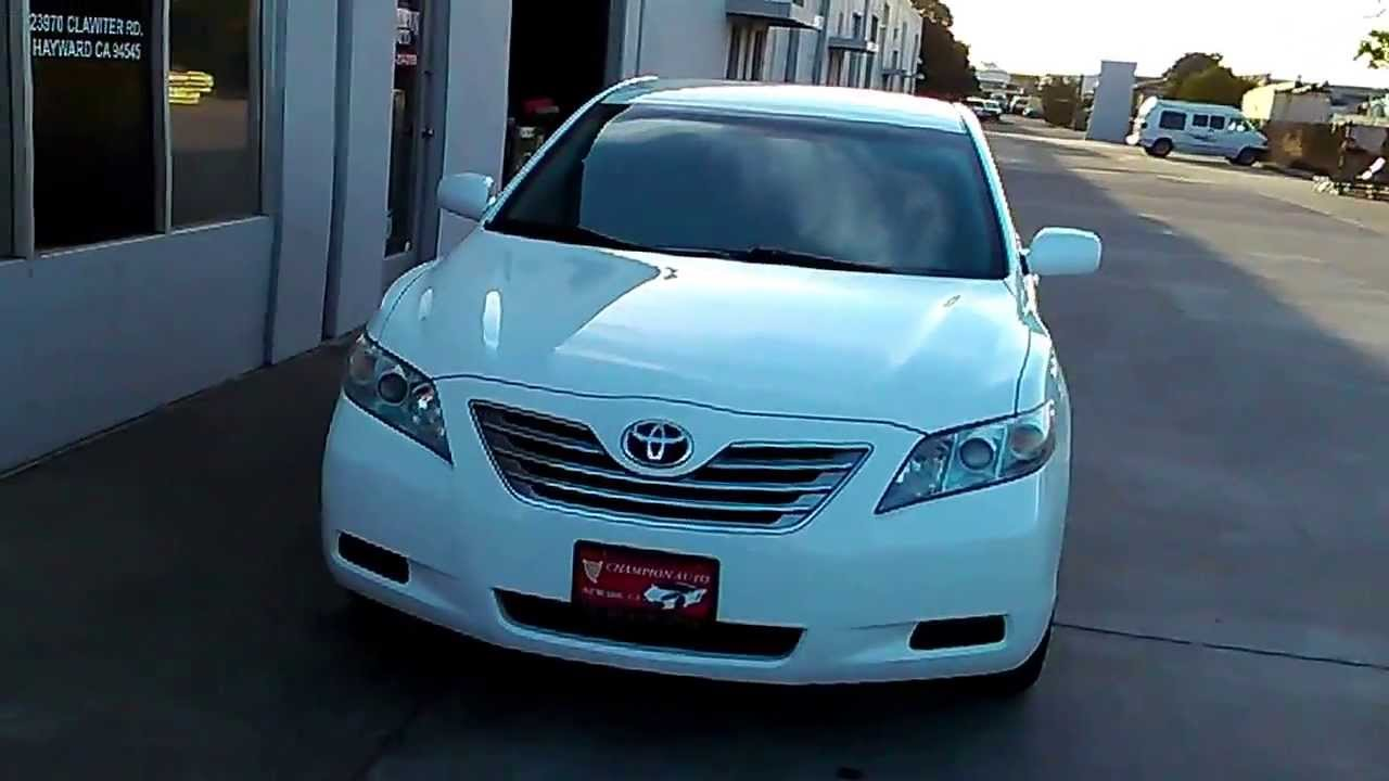 Nice Sold Sold Now, 2008 Toyota Camry Hybrid, W/ Clean Carfax, Aux Port,  Powerseats, Great MPG,