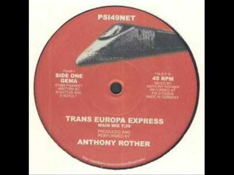 anthony rother - trans europa express