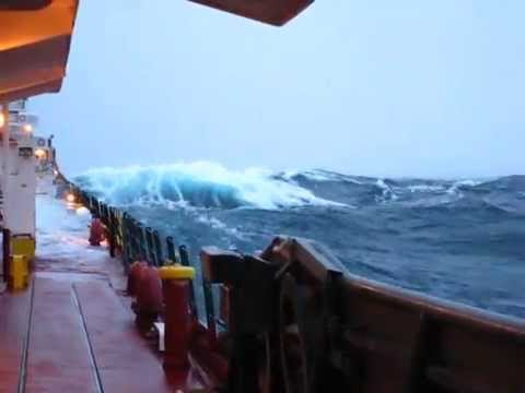 Heavy Seas on Lake Superior