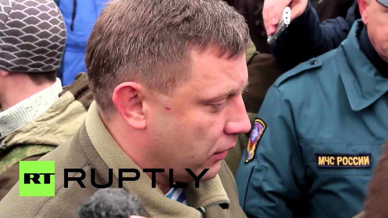 Why lie about Zakharchenko