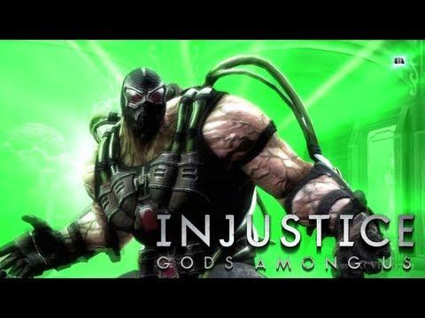 INJUSTICE: GODS AMONG US - 'Break the Bat' Bane's Super Move [HD]