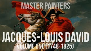 Jacques-Louis David (1748-1825) A collection of paintings 4K Ultra HD