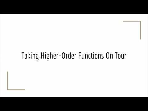 GopherCon 2017: Aaron Schlesinger - Functional Programming in Go